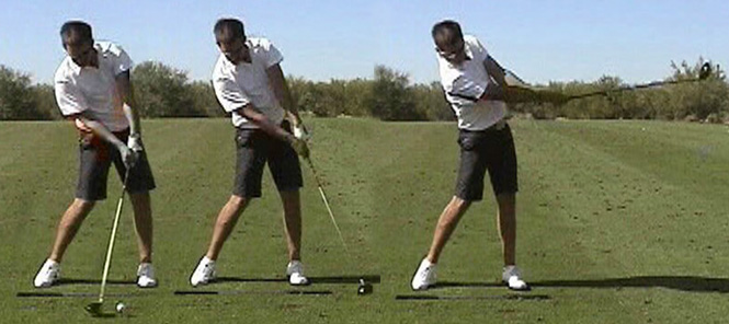 My Daily Swing — The modern, total body golf swing : Followthrough